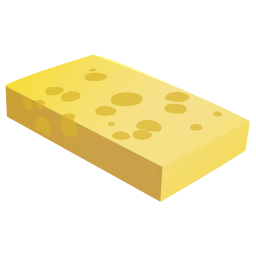 cheese chunk icon