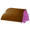 Chocolate pink icon