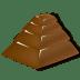 Chocolate-pyramid icon