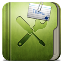 Folder-Utilities-Folder icon