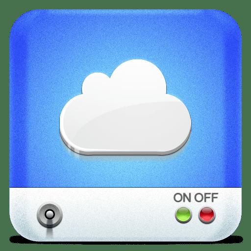 Drives-iDisk icon