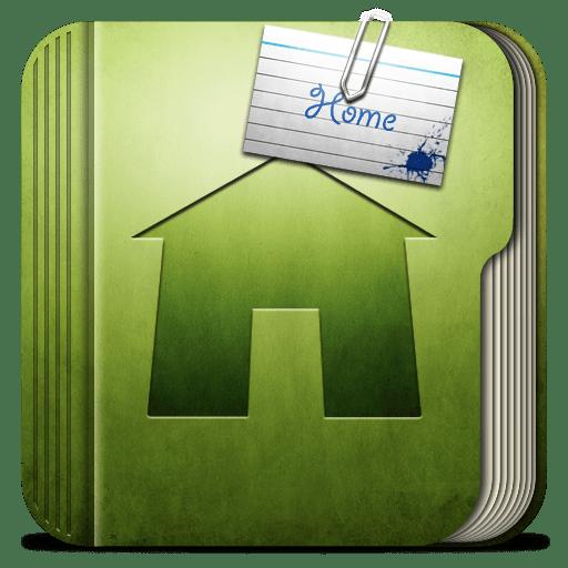 Folder-Home-Folder icon