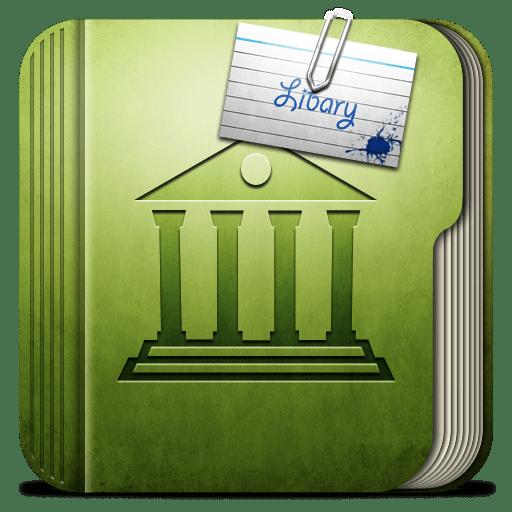 Folder-Libary-Folder icon