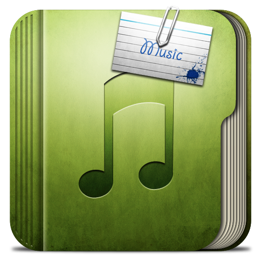 Folder Music Folder Icon | iRob Iconset | Robsonbillponte Music Icon Images Hd