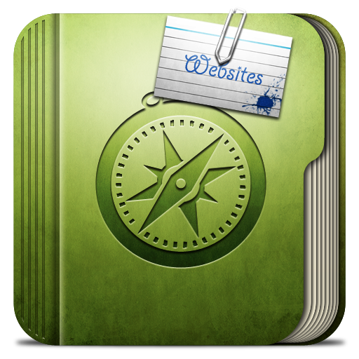 Folder-websites-Folder icon