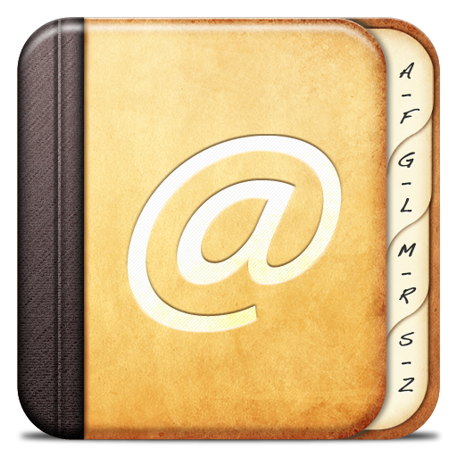Misc-Adress-book icon