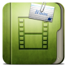 Folder-Movie-Folder icon