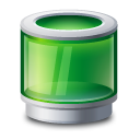 Recycle-bin-green icon