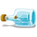 Bottle-in-the-bottle icon