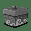 folder dark icon