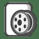 Media clip icon