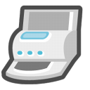 Printers and faxes icon