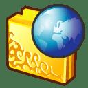 Folder internet 2 icon