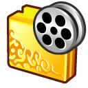 folder movies icon