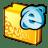folder internet icon