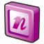 Microsoft-office-2003-onenote icon