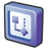 Microsoft-office-2003-visio icon