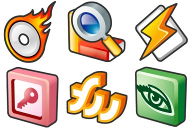 Smooth Metal Software Pack Icons