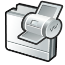 folder print icon