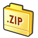 folder zip icon
