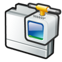 network dialup connection icon