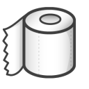 toilet paper icon