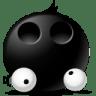 Eyes-droped icon