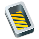 box open yellow icon