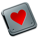 folder burned love icon