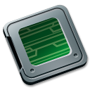 Folder burned system icon