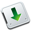 Folder-download icon