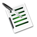 Write document icon