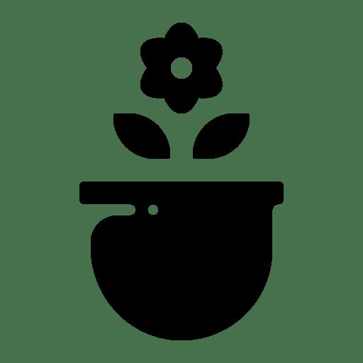 Plant flower icon