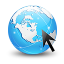 Globe Internet Explorer icon