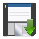 Actions document save as icon