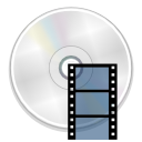 Devices dvd movie icon