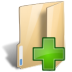 Folder-new icon