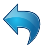 Actions-blue-arrow-undo icon
