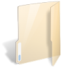 Folder-open-transparent icon