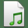 Mimetypes-sound icon