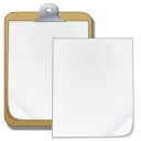 Actions edit paste icon