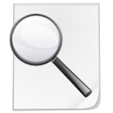 Actions file find icon