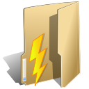 Actions-folder-file-import icon