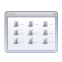 Actions view multicolumn icon
