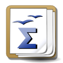 Apps openoffice math icon
