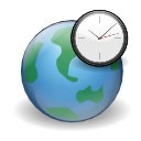 Apps world clock icon