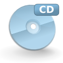 Devices cdrom mount icon