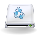 Disk backup icon
