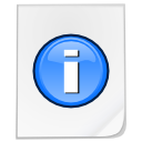 Mimetypes info icon