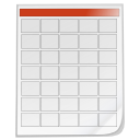Mimetypes schedule icon